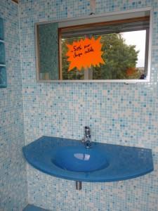 Promo 1 - Vasque verre ARTE de 100 cm