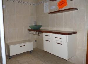 Promo 3 – Ensemble meuble FLIPPER avec vasque